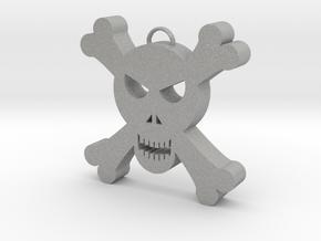 Skull Decoration in Aluminum