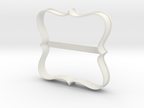Plate 23 cookie cutter for professional in White Natural Versatile Plastic
