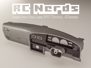 RCN061 Right hand Daschboard for Toyota 4Runner P in White Natural Versatile Plastic