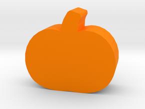 Game Piece, Pumpkin in Orange Processed Versatile Plastic