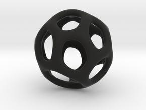 Gaia-16 (from $16.90) in Black Premium Versatile Plastic
