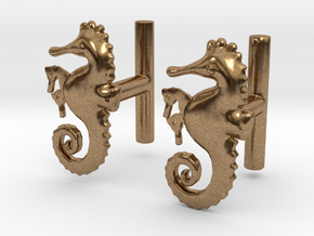 Chapter 3: He is giving birth! Cufflinks in Natural Brass
