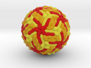 Japanese Encephalitis Virus in Full Color Sandstone