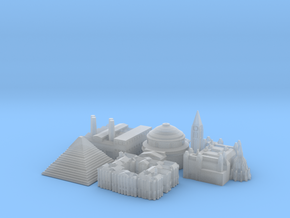 Victory Cities #1: Europe (Larger) in Smooth Fine Detail Plastic