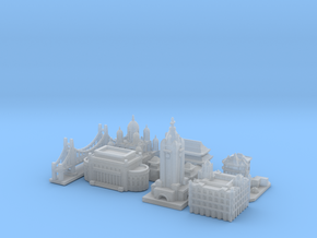 Victory Cities #1: Pacific (Smaller) in Smooth Fine Detail Plastic