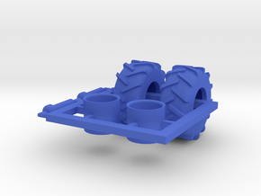 1/64 Tread Tires for 2320 TBT Air Cart in Blue Processed Versatile Plastic