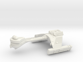 3125 Scale Klingon F5K Refitted Frigate WEM in White Natural Versatile Plastic