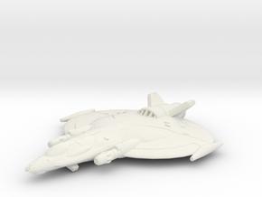 Lancer Aerospace Fighter in White Natural Versatile Plastic