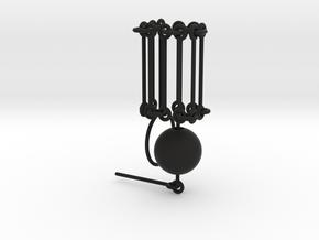 """""""Melancholy"""" necklace SMK contest in Black Premium Versatile Plastic"""