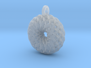 Camellia Pendant in Smoothest Fine Detail Plastic