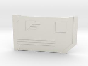 The Slicer in White Premium Versatile Plastic