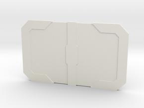 The Booster in White Premium Versatile Plastic