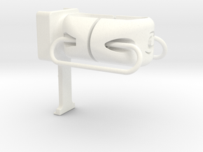 Slice RS Cygolite Hotshot Post Mount in White Processed Versatile Plastic