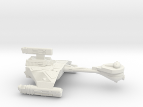 3125 Scale Klingon HF5 K-Refit Heavy War Destroyer in White Strong & Flexible