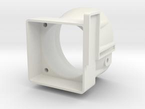 XB4 Fan Booster in White Natural Versatile Plastic
