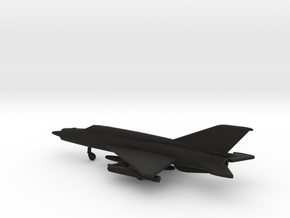 MiG-21bis Fishbed-L in Black Strong & Flexible: 1:200