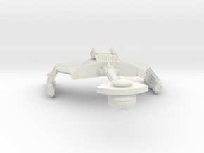 3125 Scale Klingon D6SK Refitted Heavy Scout WEM in White Natural Versatile Plastic