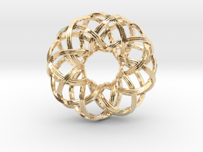 Rosa-8c3x (from $15) in 14K Yellow Gold