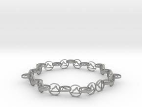 yoga jewelry necklace in Aluminum