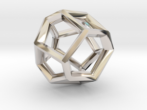 Terra-11 (from $9.90) in Rhodium Plated Brass