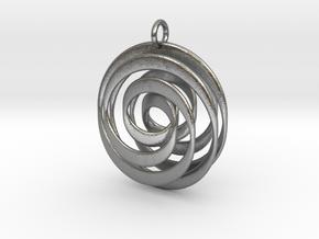 Mobius VI in Natural Silver