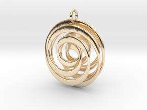 Mobius VI in 14K Yellow Gold