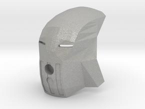 Kanohi Matatu (without eye-lens) in Raw Aluminum