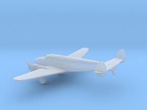 Lockheed Model 12 Electra Junior in Smooth Fine Detail Plastic: 1:200
