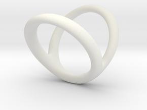 Ring 2 for fergacookie D1 2 1-2 D2 3 1-2 Len 20 in White Premium Strong & Flexible