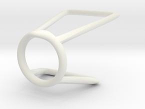 Ring 6 for fergacookie Size 7 in White Natural Versatile Plastic