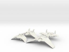 Tau'ri Attack Squadron: 1/270 scale in White Natural Versatile Plastic