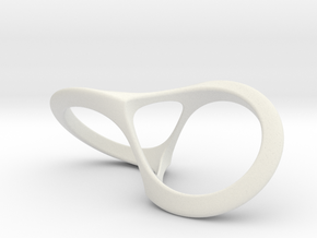 Fortuna's Ring in White Premium Strong & Flexible: 8 / 56.75