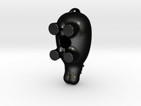 The Salt'N'Pepper Hippo in Matte Black Steel