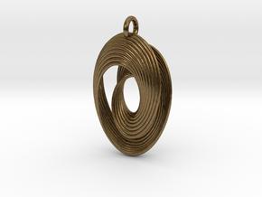 Mobius VII in Natural Bronze