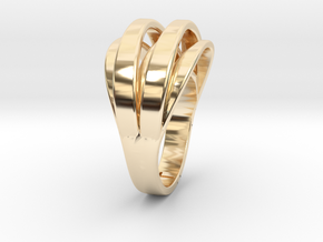Sunlight on the finger in 14k Gold Plated