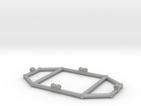 "11"" Eagle Transporter Command Module Frame in Aluminum"