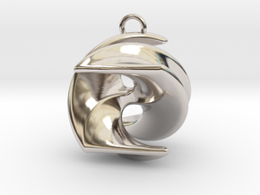 Excelate A1 in Rhodium Plated Brass: Small