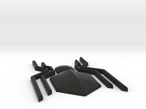 Homecoming Black Chest Spider Symbol for Costume in Black Strong & Flexible: Small