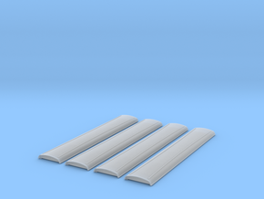 SDJR 46ft roofs in Smoothest Fine Detail Plastic