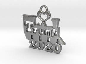 Trump Victory 2020 in Natural Silver