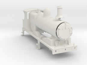 7mm - L&YR Class 28 (27 Rebuild) in White Natural Versatile Plastic