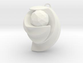 ExcelateB in White Natural Versatile Plastic: Small