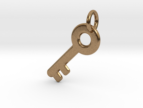 Major Key in Natural Brass: Extra Small