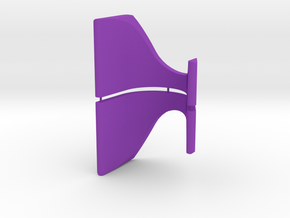 Display Stand - Racing Stick Pack v2 in Purple Strong & Flexible Polished