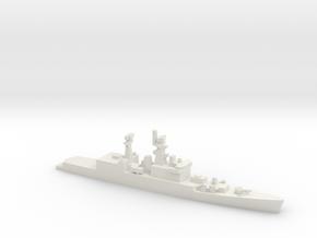 Brahmaputra-class frigate, 1/1250 in White Natural Versatile Plastic