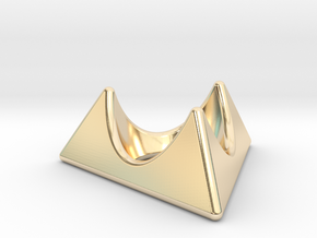 Fabergé egg cup holder in 14K Yellow Gold