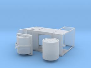 Straßenwalze mit Verdeck 1:76 - OO in Smooth Fine Detail Plastic
