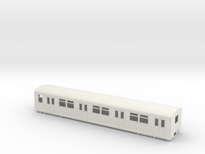 BR 877 Trailer 0 scale [1x body] in White Natural Versatile Plastic
