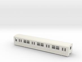 BR 877 Trailer 0 scale [1x body] in White Natural Versatile Plastic