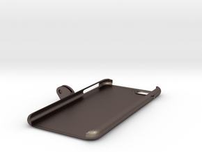 iPhone_7_Plus_GoPro_Mount in Polished Bronzed Silver Steel